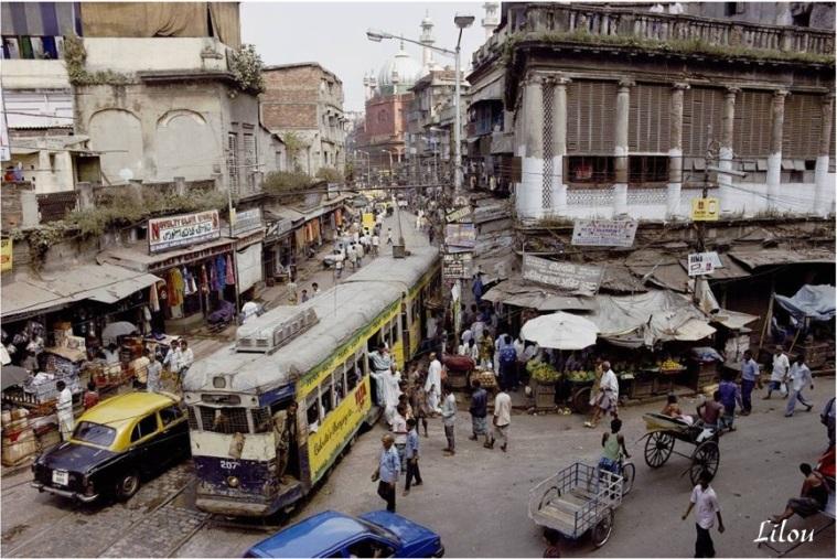 11 - la ville vieux Dehli scènes de rue chez Covix