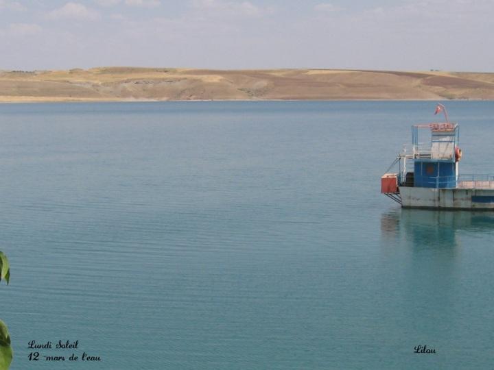 13 - mars de l'eau lundi soleul Turquie