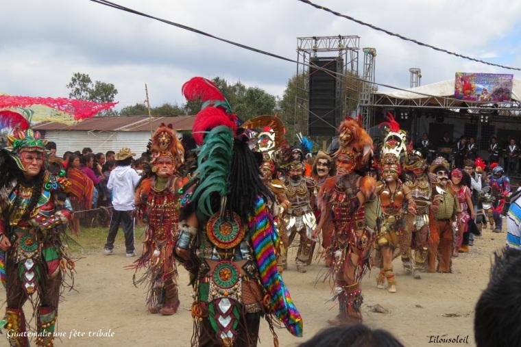 14 - scènes de rue guatémala fête tribale 28 mars 17