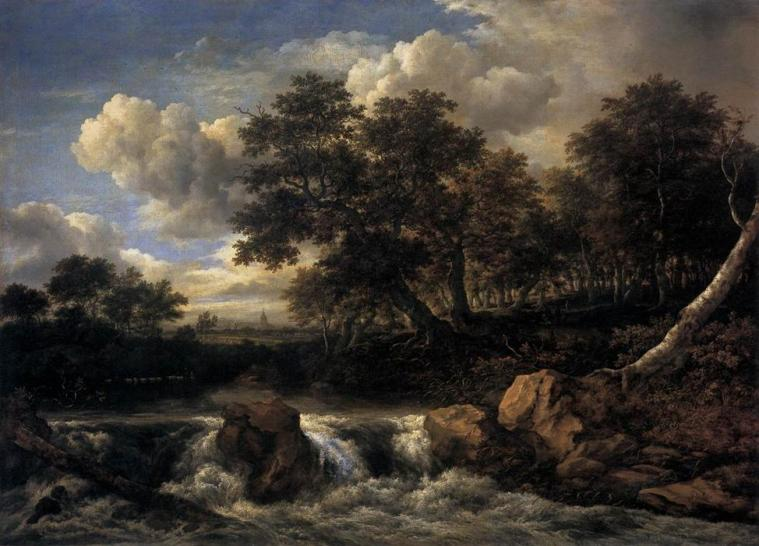 Jacob-Isaakszoon-van-Ruisdael-Landscape-with-Waterfall1