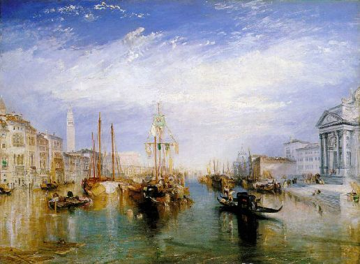 17- tableau du samedi william-turner-le-grand-canal-de-venise