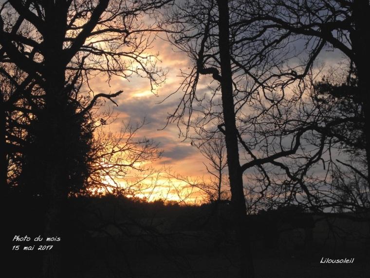 5 - mai - lumières coucher de soleil chaumont