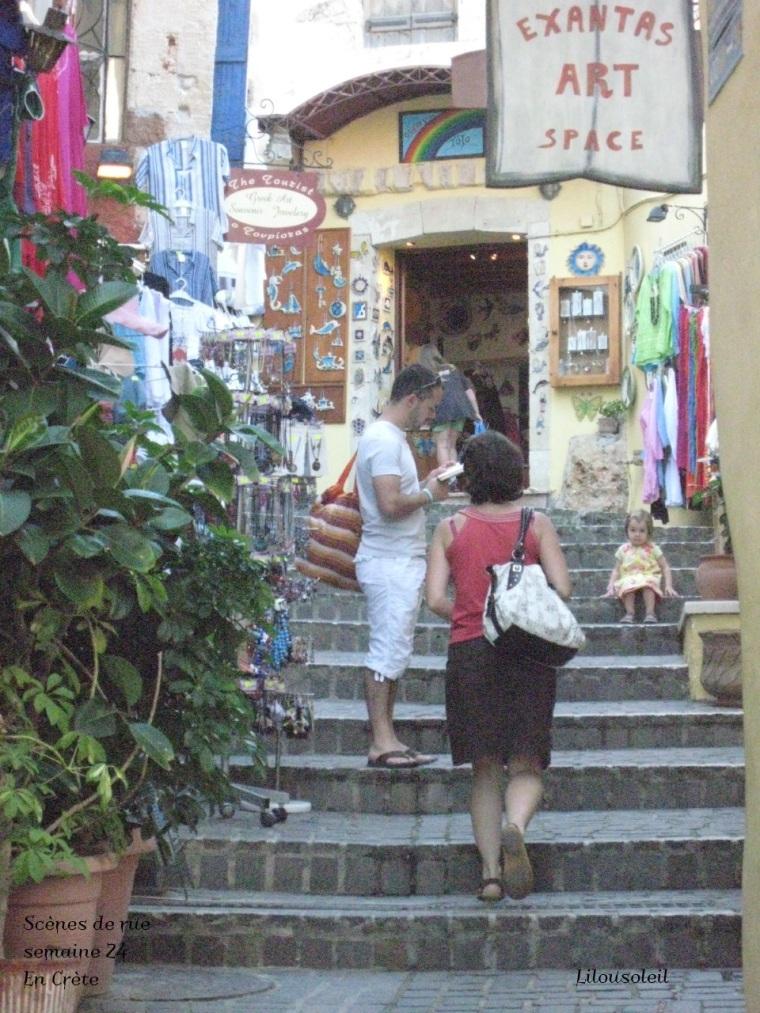 24 - Scènes de rue - en crète