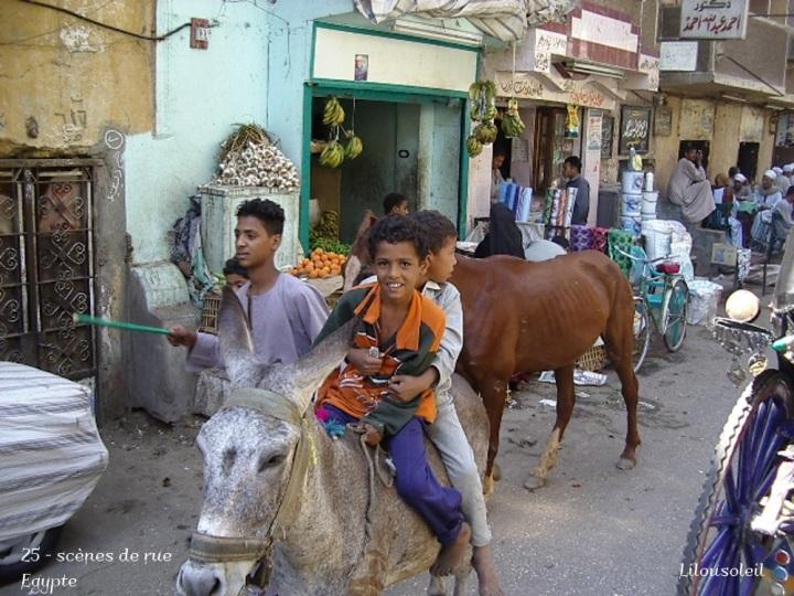 25 - scènes de rue egypte