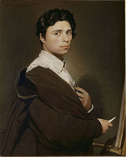 260px-Ingres,_Self-portrait