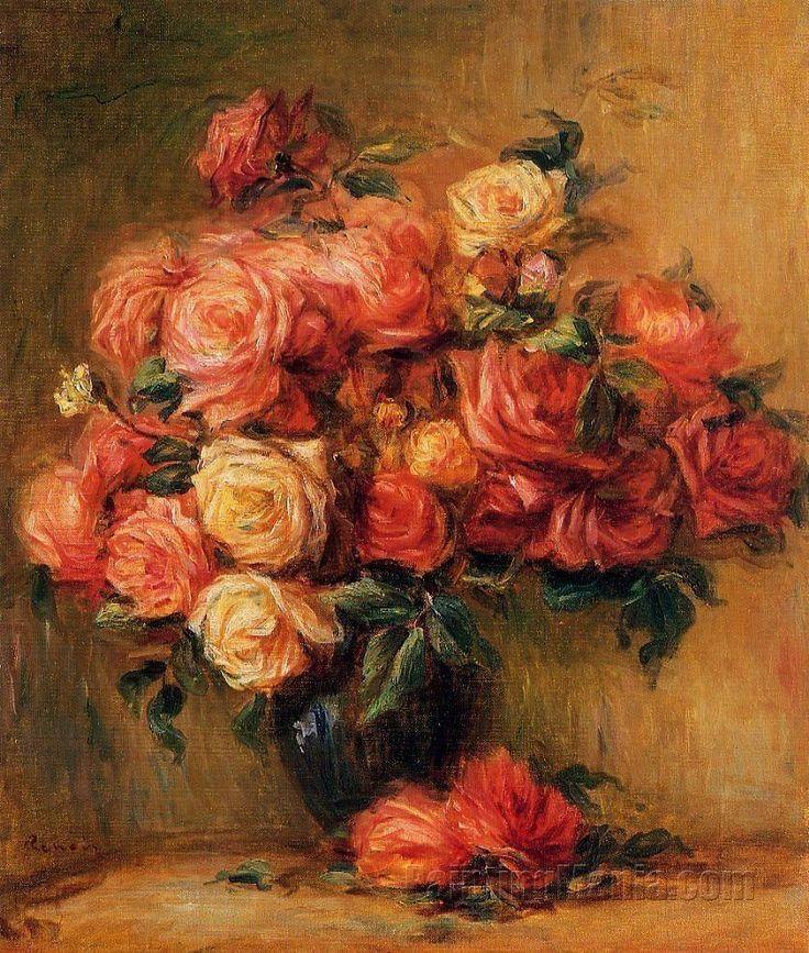 30 - bouquet-of-roses-pierre-auguste-renoir