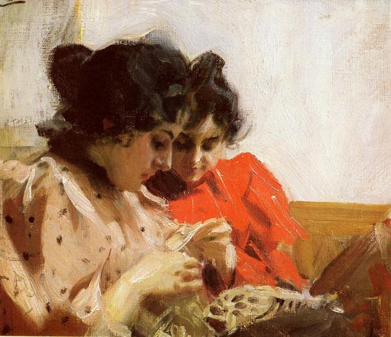 34 - Anders Zorn la palette et le rêve -1894