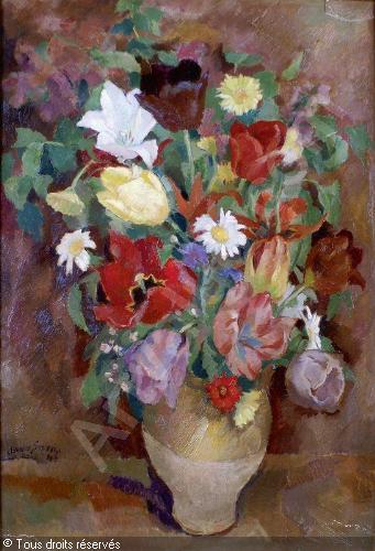 38 - Clément Serveau le bouqut de fleurs