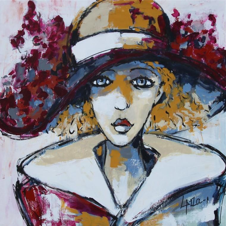 2 - La-femme-au-chapeau Pascal Lazzarotti