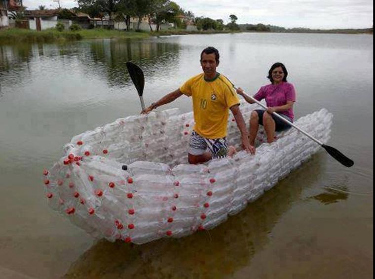 barque en bouteille