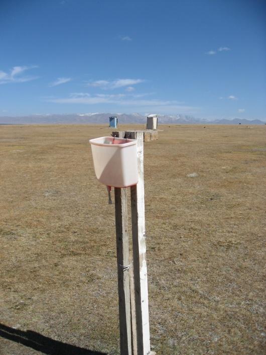 robinet au kirghisistan