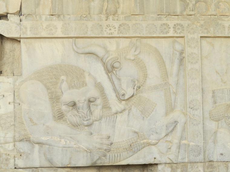 semaine 41 persépolis fresque