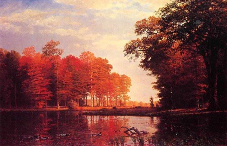 l'automne albert bierstadt semaine 44