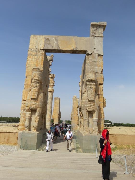 Persépolis la grande porte