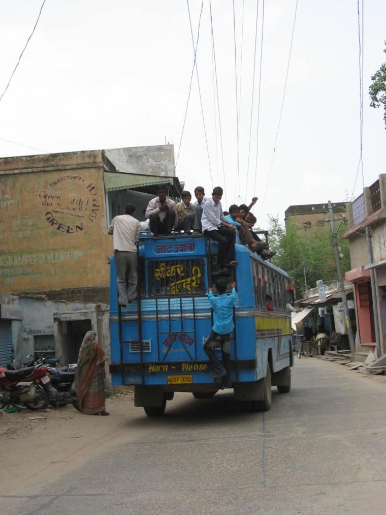 en Inde scène de rue 24-19