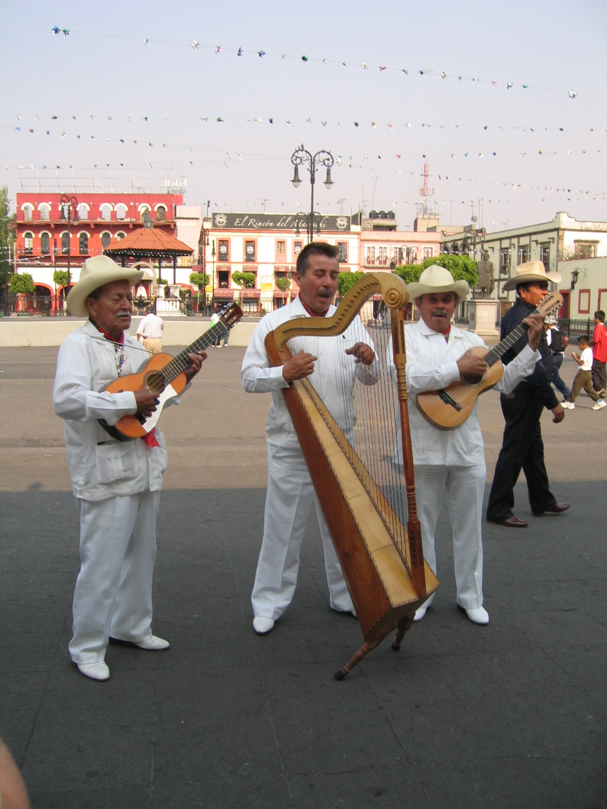 Les chanteurs de Mexico